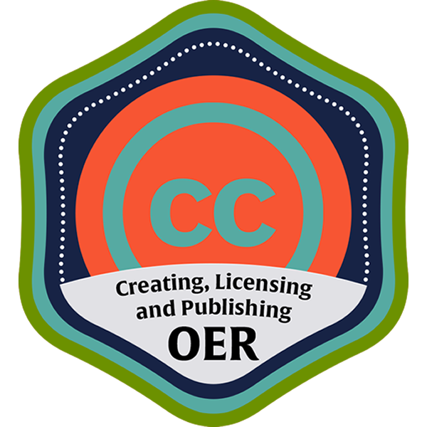 Creating, Licensing and Publishing OER Community Course