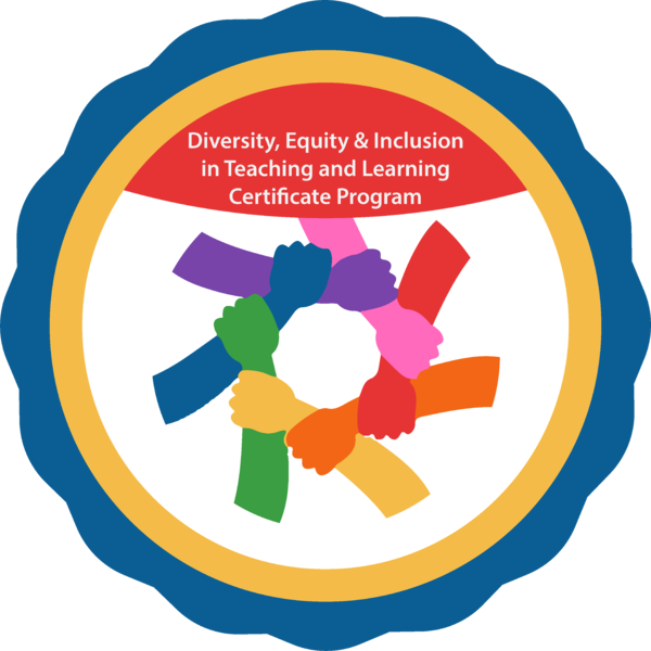 Diversity, Equity & Inclusion in Teaching and Learning Certificate