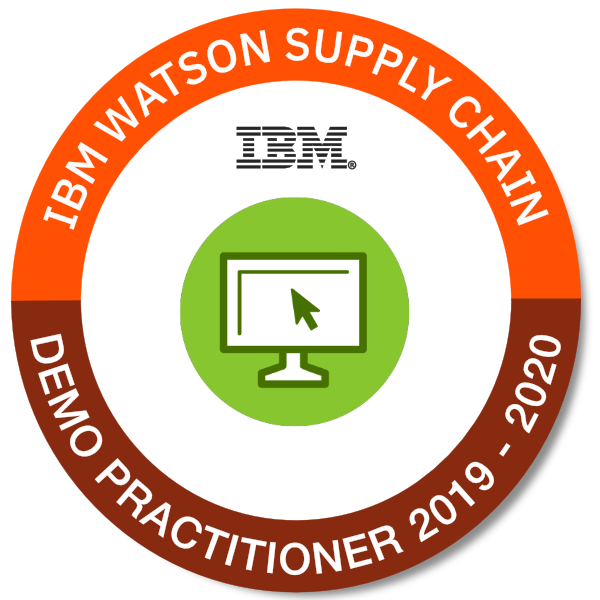IBM Watson Supply Chain Demo Practitioner 2019 - 2020