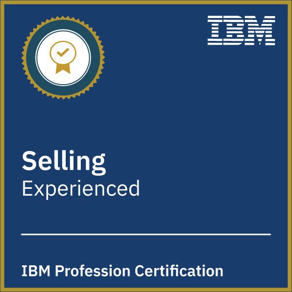 IBM Selling Profession Certification - Experienced
