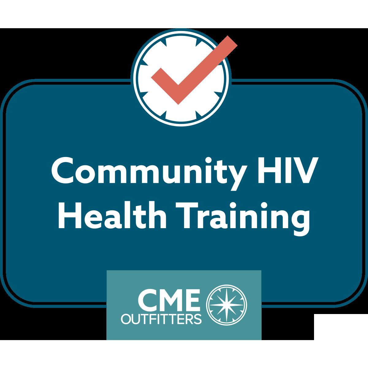 Community HIV Health Training