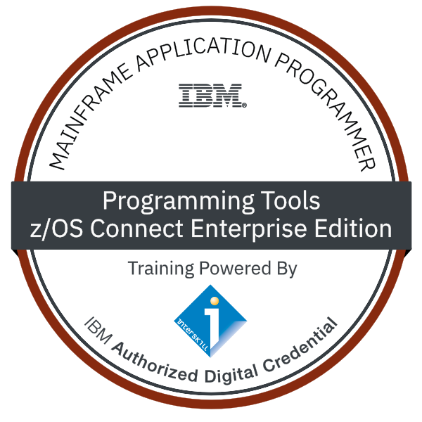 Interskill - Mainframe Application Programmer – Programming Tools – z/OS Connect Enterprise Edition - Experienced