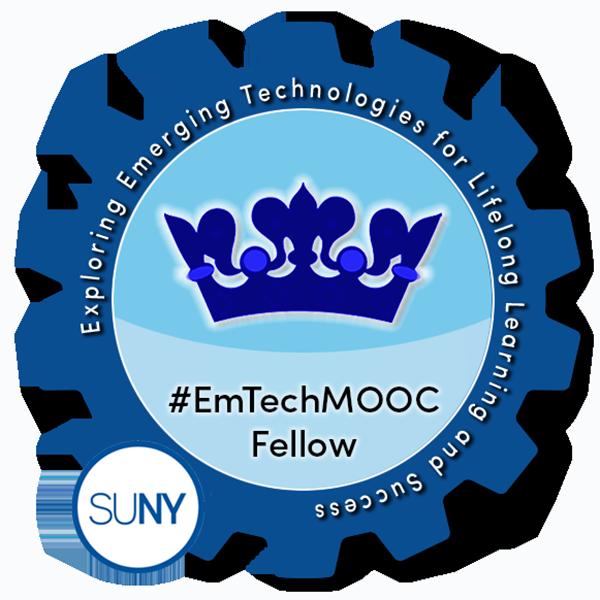 SUNY #EmTechMOOC Fellow