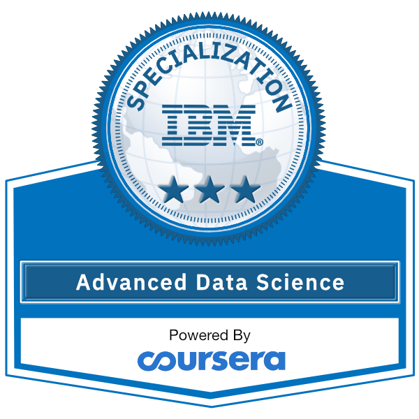 Advanced Data Science Specialization
