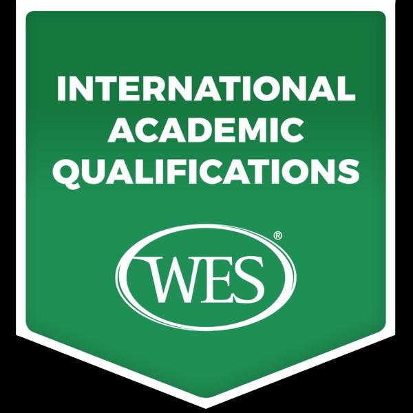 Verified International Academic Qualifications