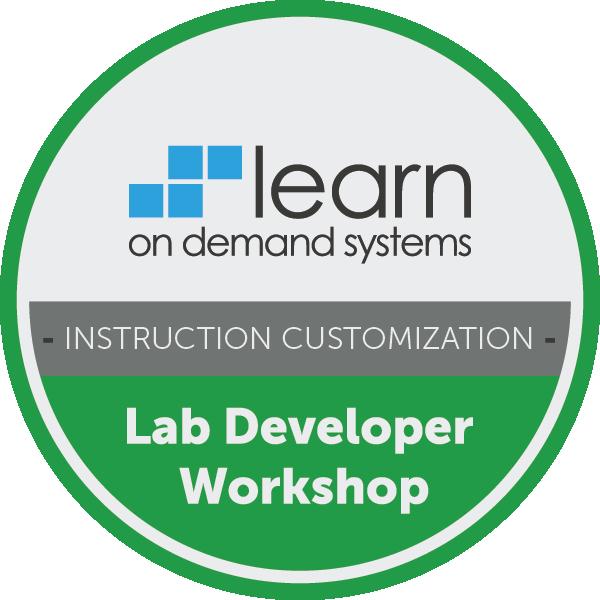 Lab Developer Workshop - Instruction Customization