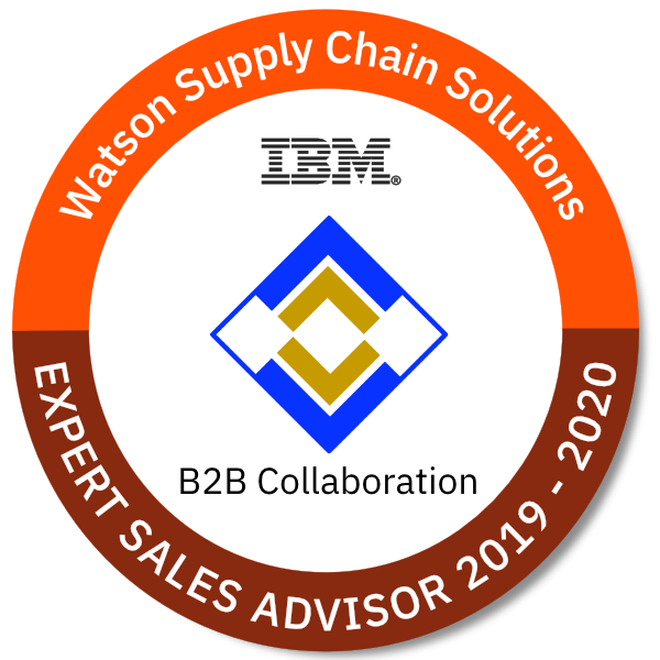 Watson Supply Chain Solutions - B2B Collaboration Expert Sales Advisor 2019 - 2020
