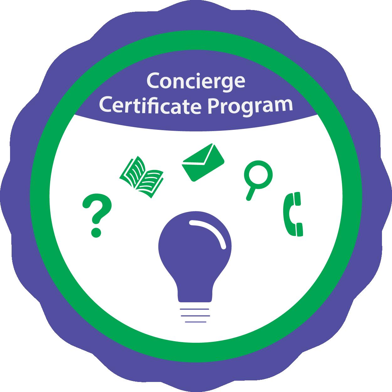 Online Student Concierge Certificate Program