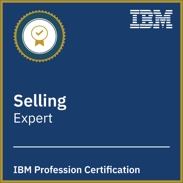 IBM Selling Profession Certification - Expert
