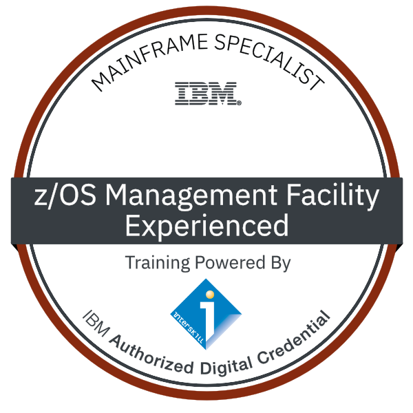 Interskill – Mainframe Specialist - z/OS Management Facility - Experienced