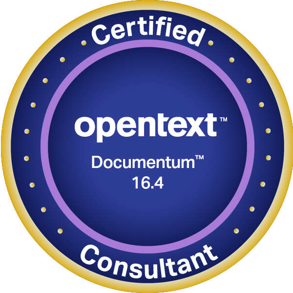 OpenText Certified Consultant - Documentum 16.4