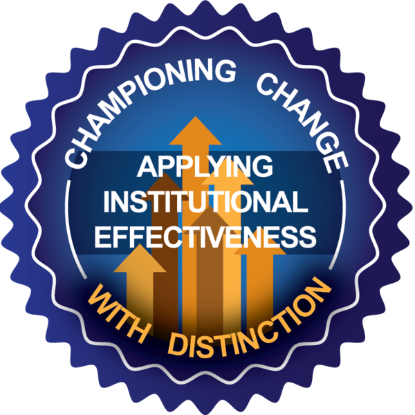 Championing Change: Applying Institutional Effectiveness on Your Campus with Distinction