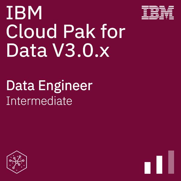 IBM Cloud Pak for Data V3.0.x Data Engineer