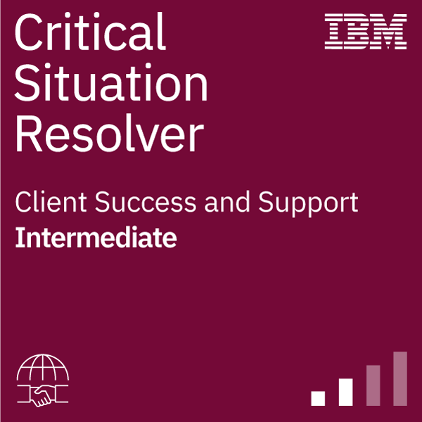 IBM Critical Situation Resolver: Intermediate