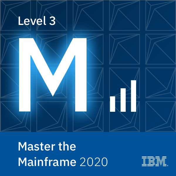 Master the Mainframe 2020 - Level 3
