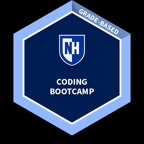 University of New Hampshire Coding Boot Camp