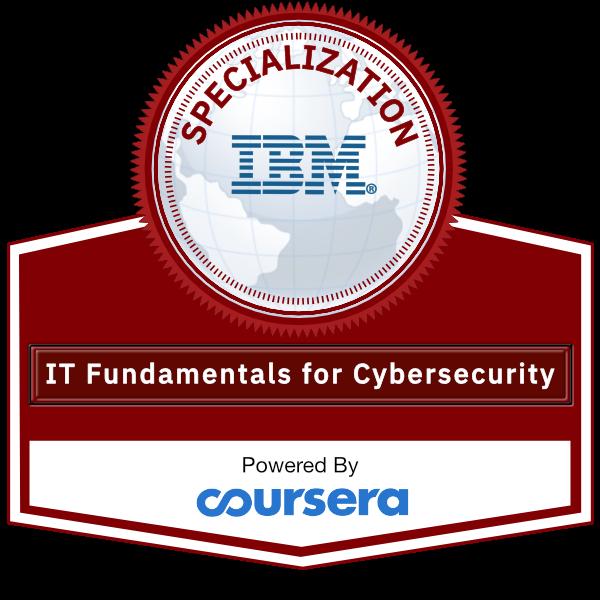 Cybersecurity IT Fundamentals Specialization