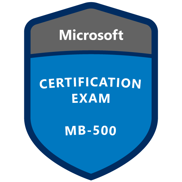 MB-500 Microsoft Dynamics 365: Finance and Operations Apps Developer