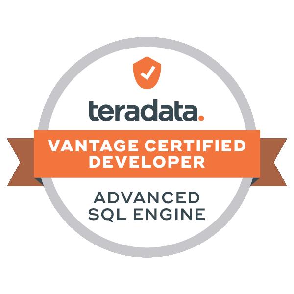 Vantage Certified Developer