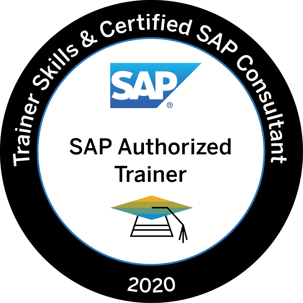 Trainer Skills & Certified SAP Consultant 2020 - SAP Authorized Trainer