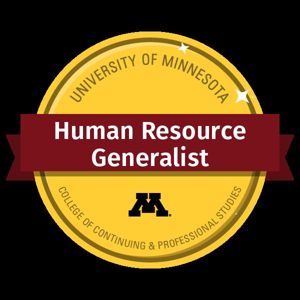Human Resource Generalist Certificate
