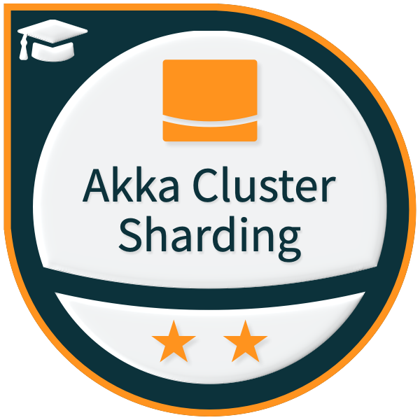 Lightbend Akka Cluster Sharding (Scala) - Level 2