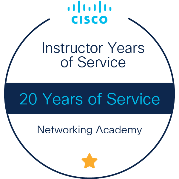 Instructor 20 Years of Service
