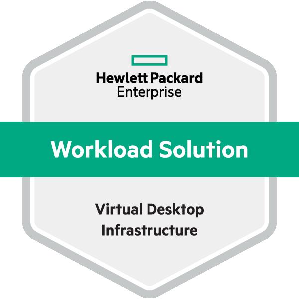 HPE Workload Solution Virtual Desktop Infrastructure