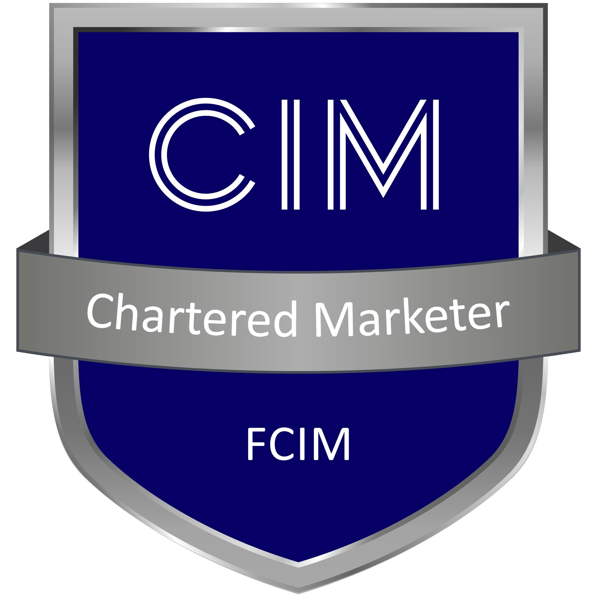 CIM Chartered Marketer FCIM Member