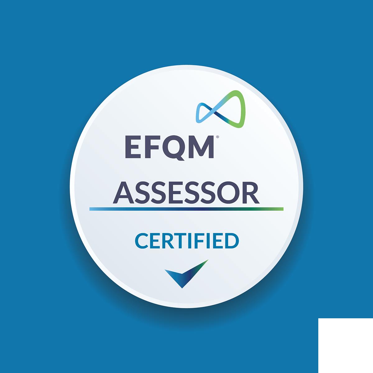 EFQM Assessor Certified