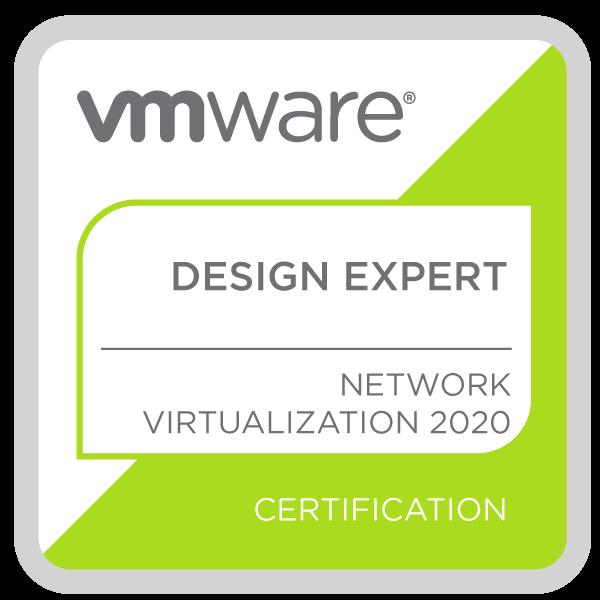 VMware Certified Design Expert - Network Virtualization 2020