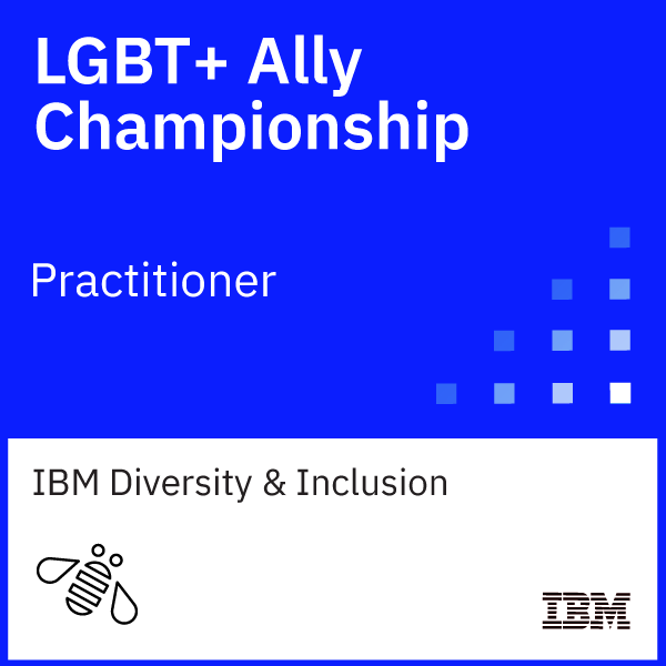 LGBT+ Ally Championship Practitioner