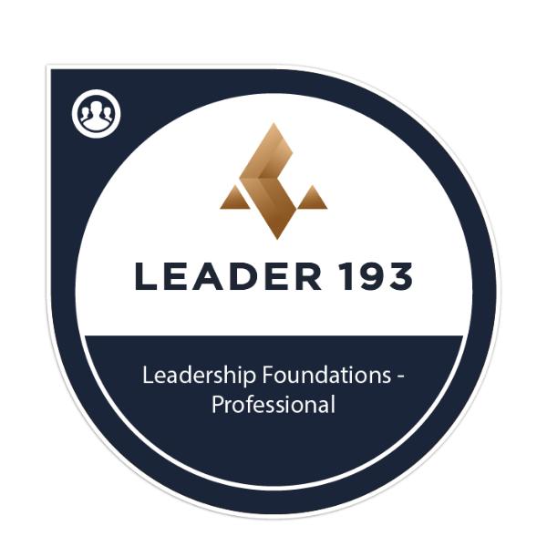Leadership Foundations - Professional