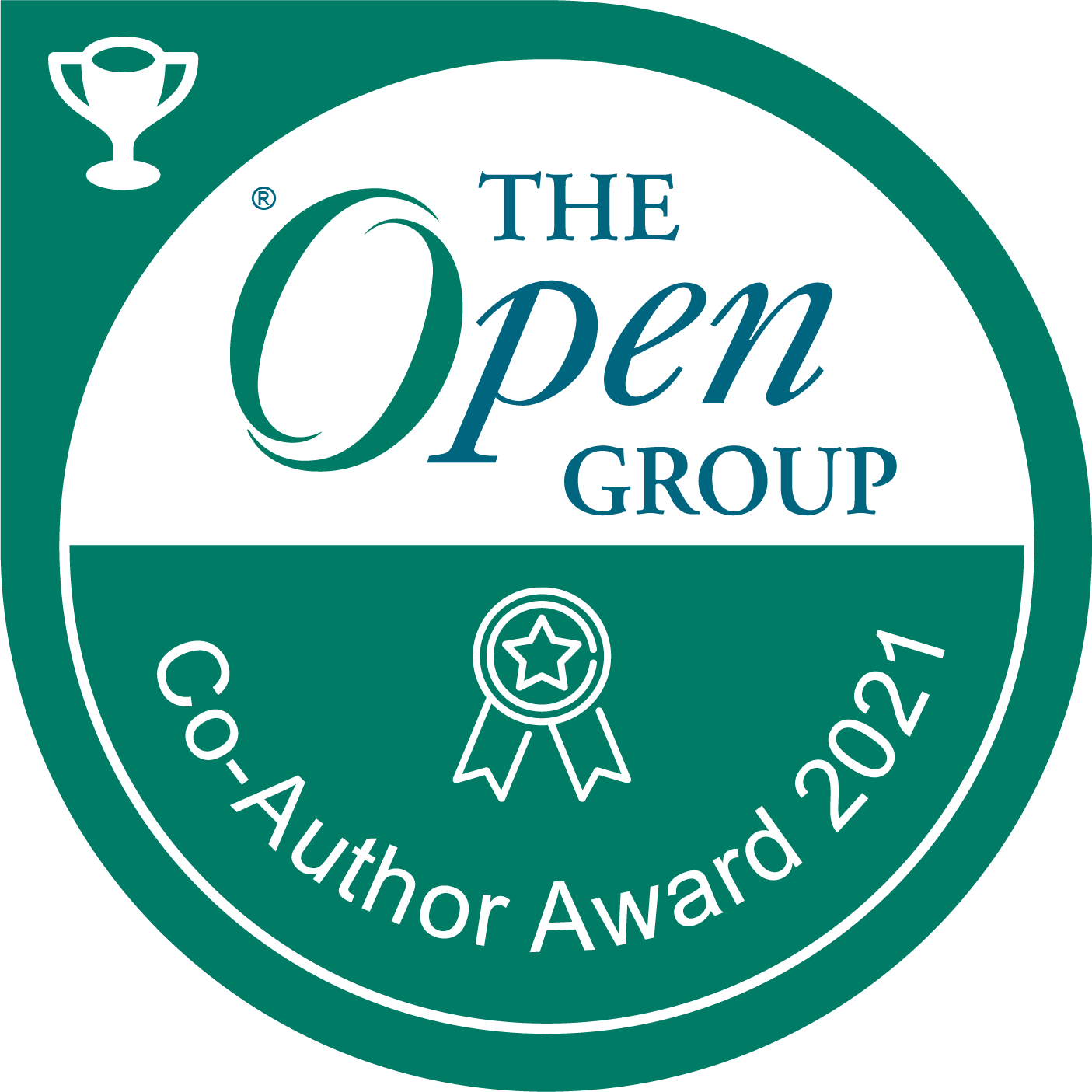 The Open Group: Co-Author Award 2021