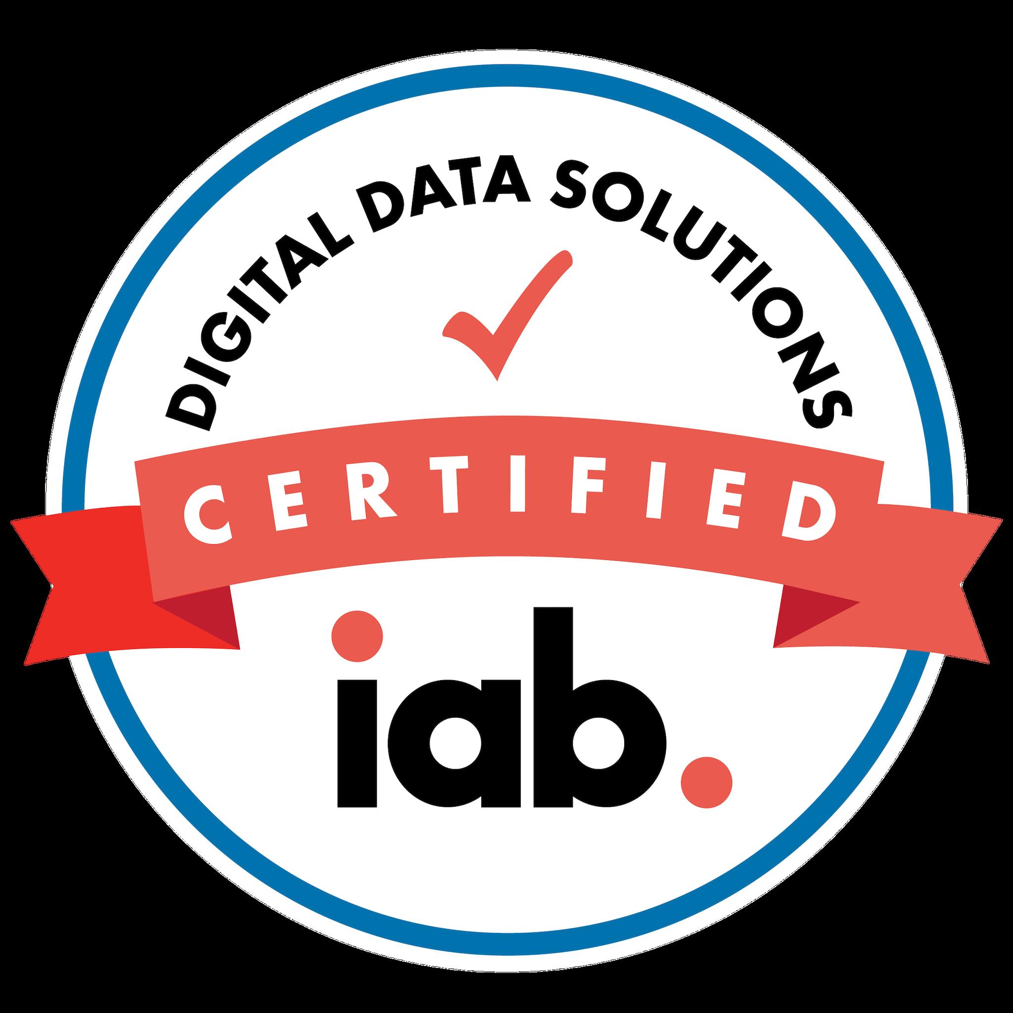 IAB Digital Data Solutions Certification