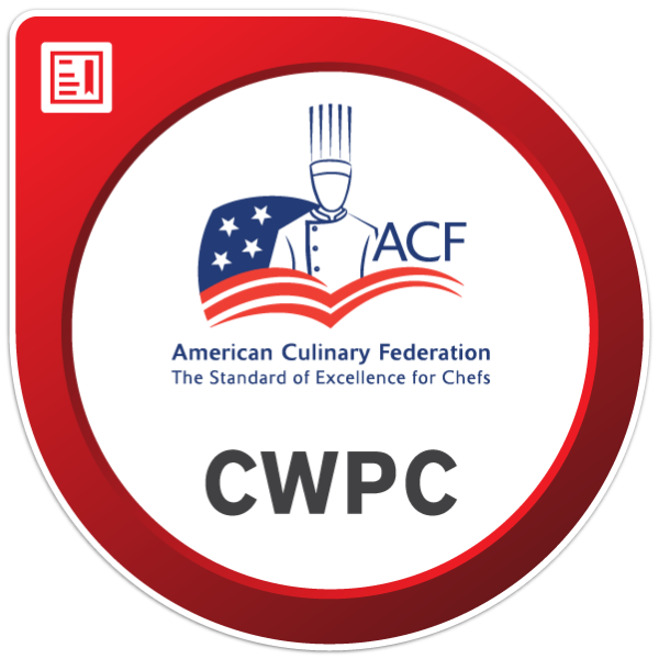 ACF Certified Working Pastry Chef® (CWPC®)