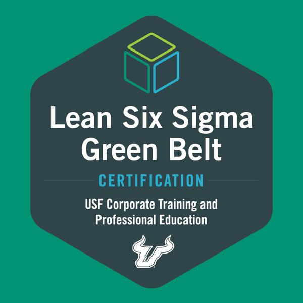USF Lean Six Sigma Green Belt Certification
