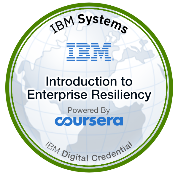 Introduction to Enterprise Resiliency