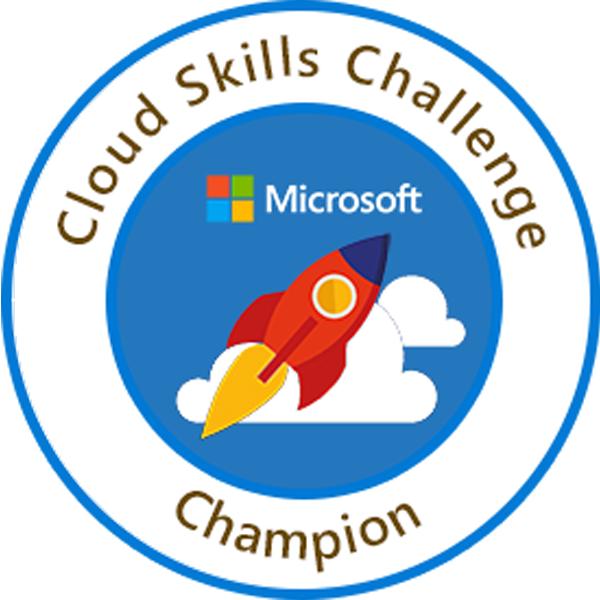 MSUS Cloud Skills Challenge Champion