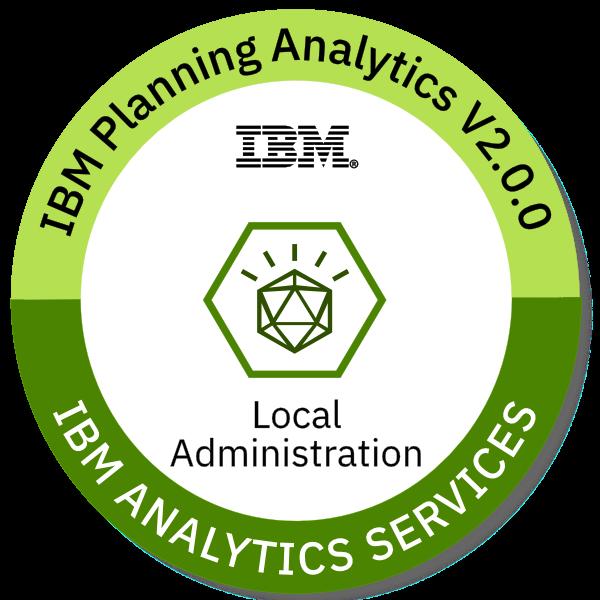IBM Planning Analytics V2.0.0 Local Administration