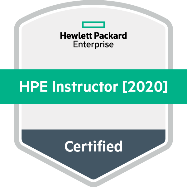 HPE Certified Instructor [2020]