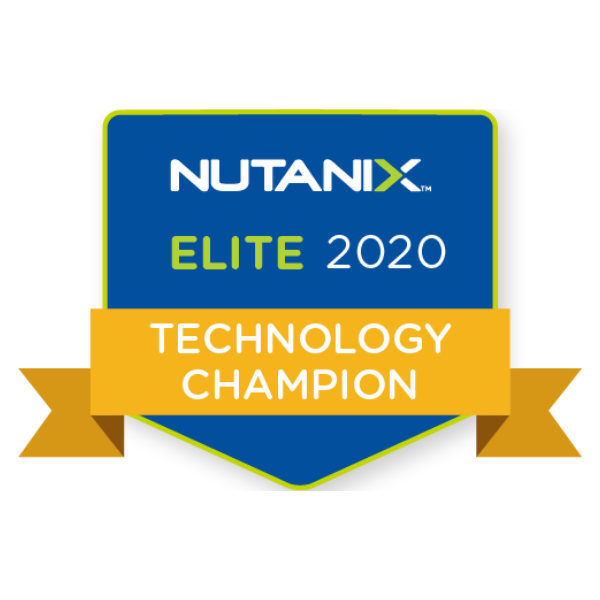 Nutanix Technology Champion - Elite (2020)