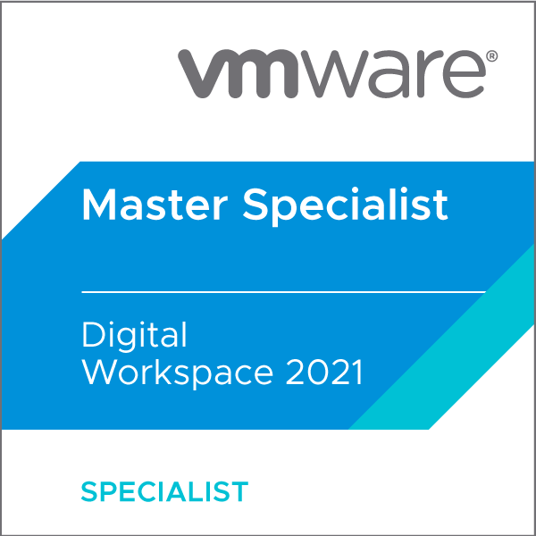 VMware Certified Master Specialist - Digital Workspace 2021