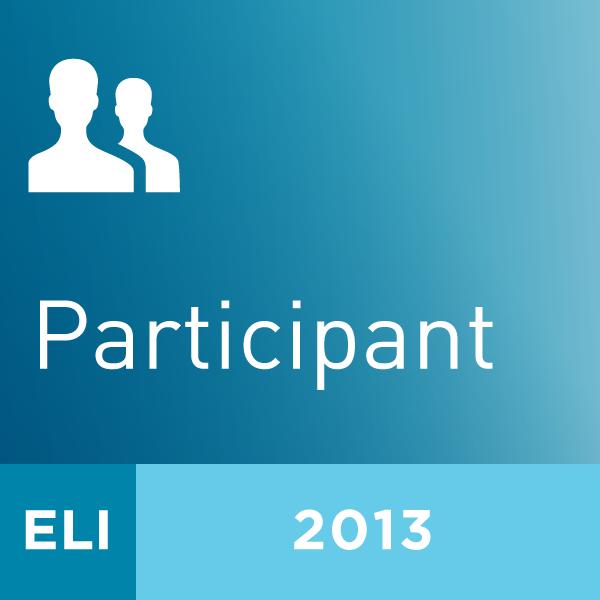 2013 ELI Annual Meeting Participant