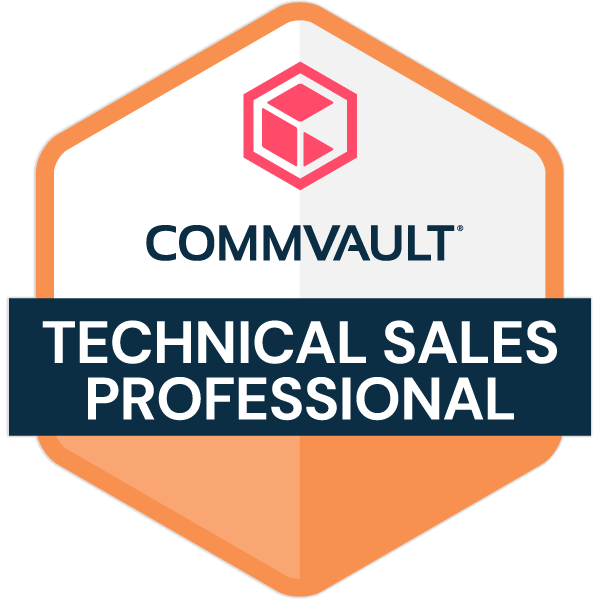 Commvault Technical Sales Professional