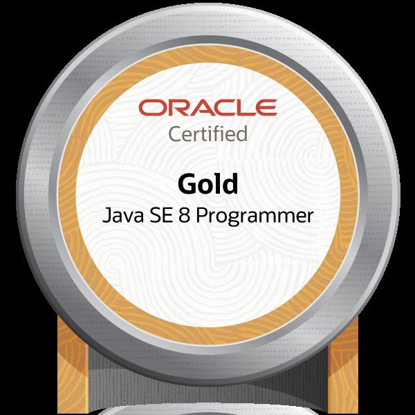 Oracle Certified Java Programmer, Gold SE 8 (Oracle Certified Professional, Java SE 8 Programmer) - JPN