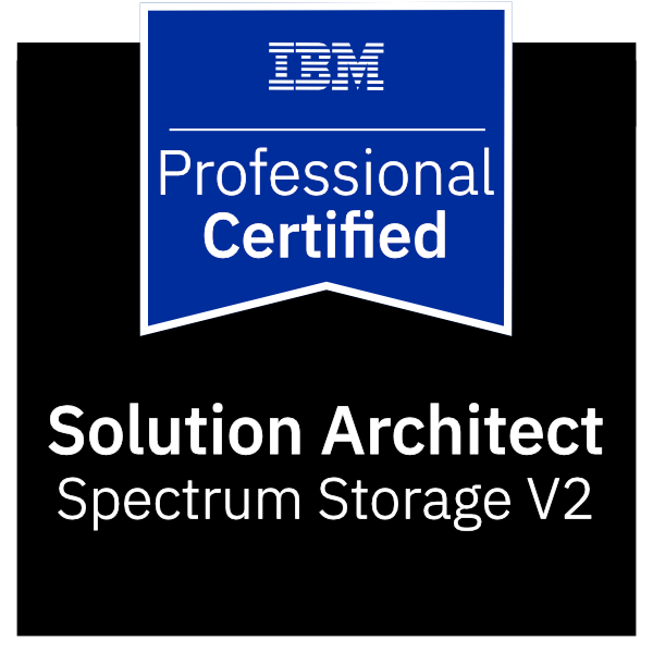 IBM Certified Solution Architect - Spectrum Storage V2