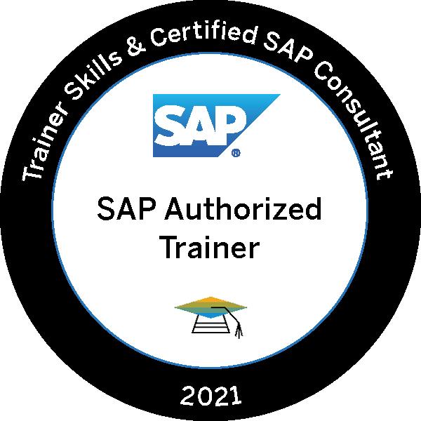 Trainer Skills & Certified SAP Consultant 2021 - SAP Authorized Trainer