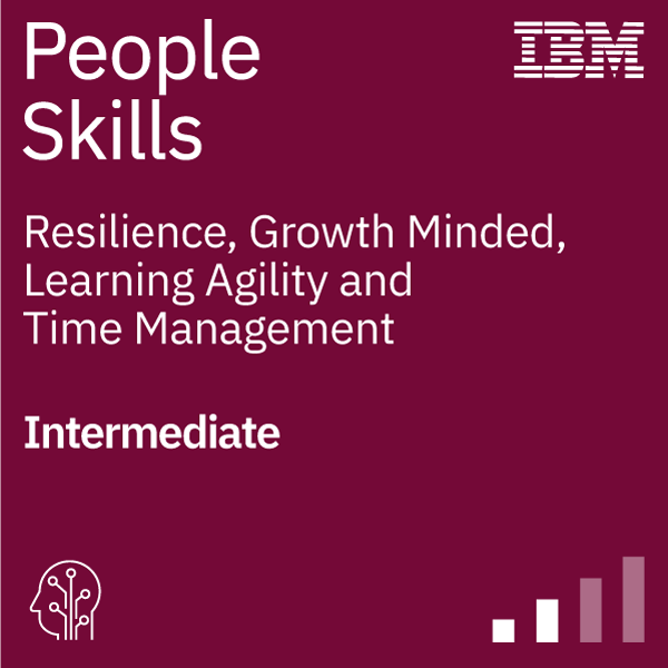 People Skills - Resilience, Growth Minded, Learning Agility, Time Management