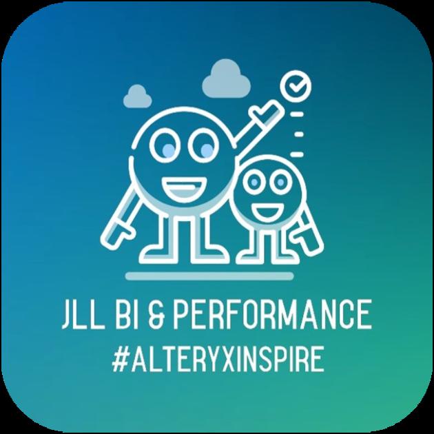 JLL Alteryx Inspire Attendee